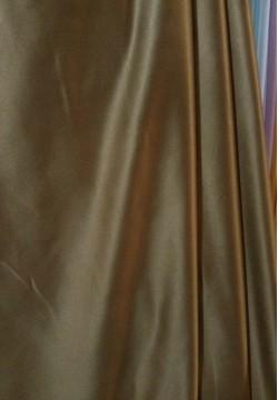 шторная ткань тафта темно-коричневая