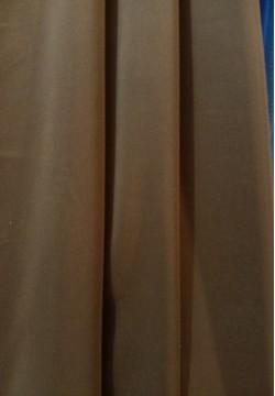 штора тафта темно-коричневая