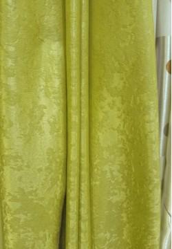 штора блекаут софт колір зелений 559