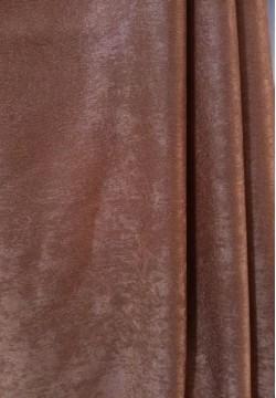 штора жаккардовая коричневая 597