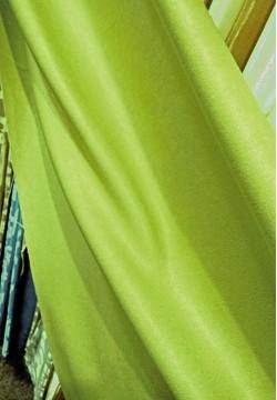 портьера жаккардовая софт зеленая 781