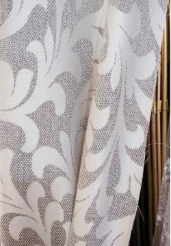 штора блэкаут мешковина цвет серый 763