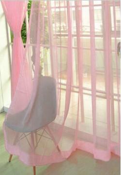 тюлевой шифон однотонный розовый 103