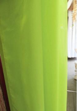 шифон однотонный ярко зеленый 694