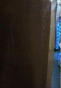 тюлевой шифон цвет венги (темно-коричневый) 679