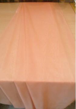 Тюлевой шифон однотонный персиковый 72